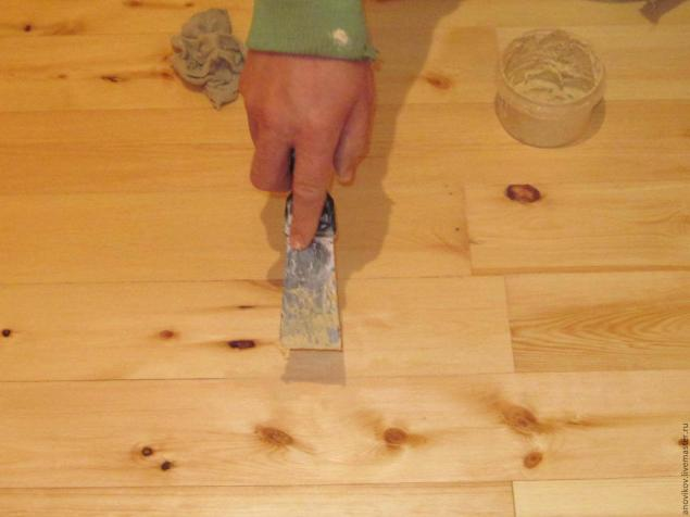 Как приготовить шпаклевку для дерева